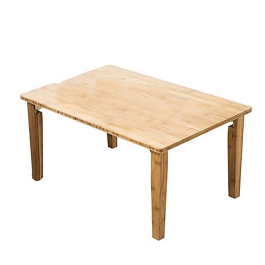 Petite table Table / Table en bois massif Kang / Table carrée / Bureau d'ordinateur / Table pliante / Table basse (Taille en option) ( taille : 85*55cm )