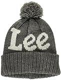 (リー)Lee Leeロゴ ニット帽 LA0170-102  グレー フリー