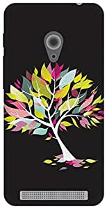 The Racoon Lean stylized tree hard plastic printed back case / cover for Asus Zenfone 4 A450CG