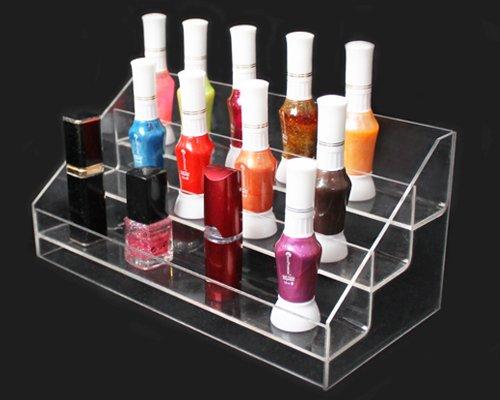 Yudu Acryl Warentreppe Lipstick-Ständer Warenständer Verkaufsständer