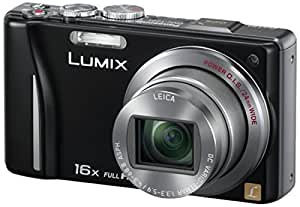 Panasonic Lumix DMC-TZ22EG-K Digitalkamera (14 Megapixel, 16-fach opt. Zoom, 7,5 cm (3 Zoll) Touch LC-Display, GPS, Full HD, 3D, bildstabilisiert) schwarz