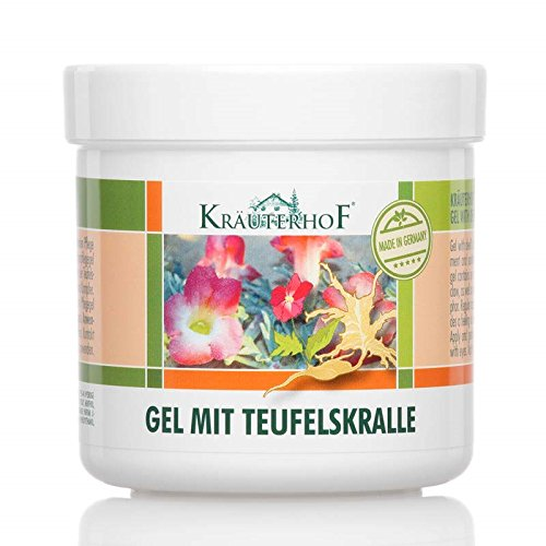 Krauterhof Gel 250Ml Devil'S Claw And Eucalyptus Chronic Degeneratives In Joints (Devils Claw Gel compare prices)