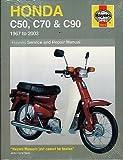 HAYNES 1967-2003 HONDA C50, C70, & C90 OWNERS SERVICE MANUAL (0324) (977)