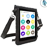 USA Gear FlexARMOR X 7 inch Tablet Cover Carrying Case with Spill Proof Touch Capacitive Screen Protector- Will fit Jellipad , iRulu , Swees , Nabi 2 Kids , BWC , Adspec Adtab & More 7