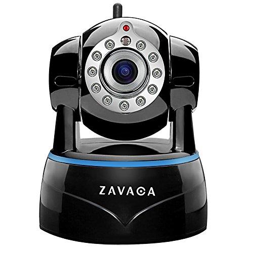 ZAVACA 1080P(1920×1080) Wireless WiFi IP Camera,Home Security Wireless Network Cam with Pan/Tilt/Zoom ,Two-Way Audio