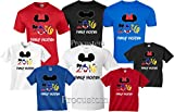 Disney Family Vacation 2016 T-Shirts Matching Cute Mickey T-Shirts (L Adult Mickey, Blue)