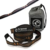 Insane Sale - XL Hammock Tree Straps (Set of 2). Extra Long, Heavy Duty, Ultralight, No Stretch Best Portable Camping Suspension System By Explore Outfitters