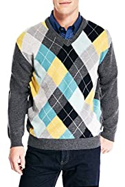 Blue Harbour Extrafine Pure Lambswool Argyle Jumper [T30-2169B-S]