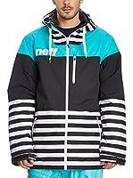 Neff Chaqueta de Snowboard Trifecta (Multicolor)