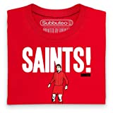 Official Subbuteo - Saints Organic T Shirt, Mens