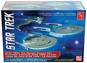 Star Trek The Motion Picture Set - Round 2 AMT Cadet Series - 1/2500 scale model