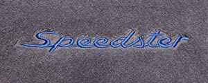 Logo 1991-1994 Porsche 911 Coupe|Turbo Luxury 4 Pc Car Mat Set Luxury Cruiser Mat Color: Midnight Blue Mat Logo: Speedster Embroidery (1990's) - Dark Blue