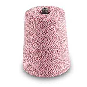 3,360-Yards 4-Ply Red-and-White Bakers Packing Twine