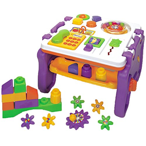 Kids Can Learn Convertible Gear and Interactive Play & Activity Center (Building Block Baby Walker compare prices)
