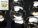 ハッピーボム Happy Bomb 地鎮水晶 クリーンアップ クリスタル 上品質 3A 丸玉 5個セット 直径 約31~36mm 邪気払い 浄化 運気アップ 天然石 パワーストーン 図解説明書付 地鎮 本水晶 水晶 クオーツ クリスタル 置石