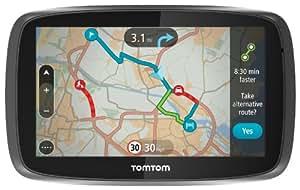 "TomTom GO 500 UK & Ireland - 5"" Sat Nav with Full UK & Ireland Lifetime Maps, Lifetime Traffic Updates, Smartphone Connected and Interactive Screen"
