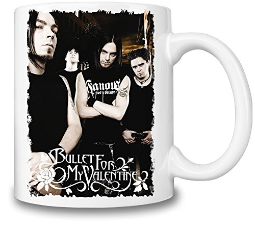 Bullet For My Valentine Tazza Coffee Mug Ceramic Coffee Tea Beverage Kitchen Mugs By Genuine Fan Merchandise