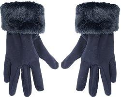True Gear Women's Winter Gloves (Blue)