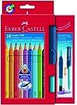 Faber-Castell 110914 - 10 Jumbo GRIP...
