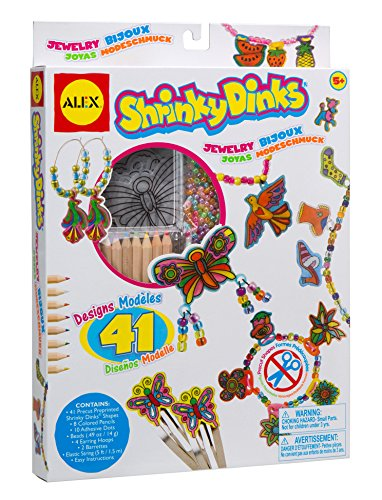 Shrinky Dinks Jewelry - 1