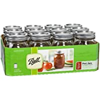 12-Pack Ball Regular-Mouth 16-oz. Canning Jars