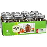 Ball Mason 16-Ounce Canning Jars, Pint, 12 Count