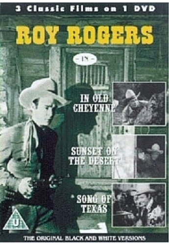Roy Rogers-In Old Cheyenne / Sunset On The Desert / Song Of Texas [DVD] [Reino Unido]