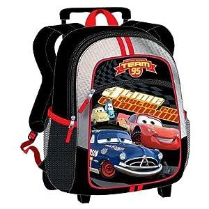 Disney Cars Rolling Backpack Small Mini Medium Mid Size ~ Lightning Mcqueen