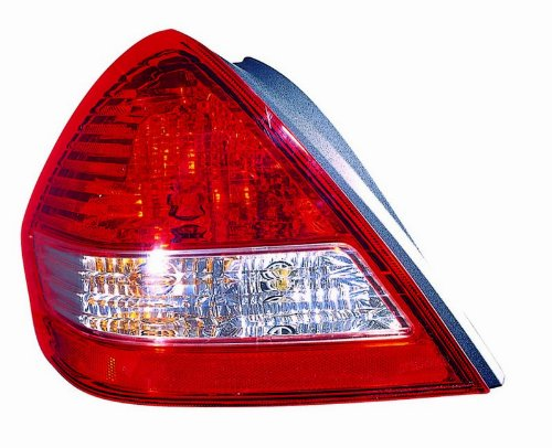 Taillight Taillamp Tail Brake Light Lamp Driver Side Left LH for 98-99 Taurus