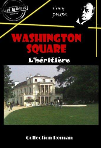 Couverture du livre Washington square: L'héritière