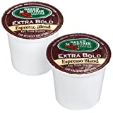 Green Mountain Coffee Fair Trade Organic Espresso Blend (Extra Bold) for Keurig Brewers, 24-Count K-Cups (Pack of 2) ~ Green Mountain Coffee