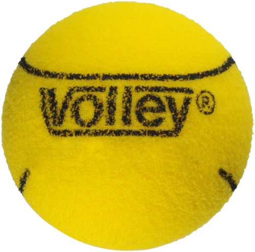 "Volley Foam 85kg Uncoated Tennis and Paddleball Ball, Yellow, 2-3/4"" Dia. (Set of 3)"