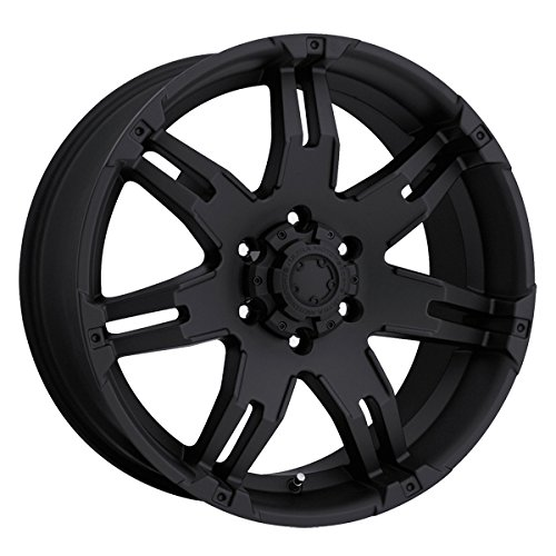 Ultra 238B Gauntlet 18x9 6x139.7 +25mm Matte Black Wheel Rim (2015 Chevy Silverado Rims compare prices)