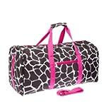 "Giraffe Print 22"" Luggage Duffle Bag..."