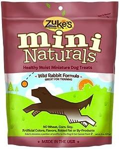 Zukes 33556 Mini Naturals Wild Rabbit Treats / Size (6 oz.)