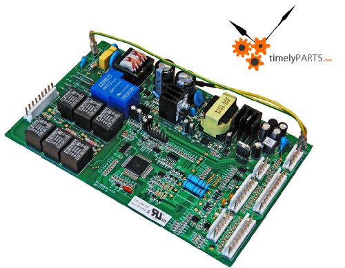 Refrigerator Main Control Board For Ge Wr55X10656 And Wr55X10942 (Green) front-535545