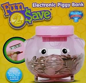Buy Fun 2 Save Electronic Piggy Bank Displays Savings Of