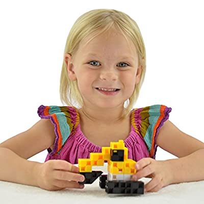 Click-A-Brick Mini Machines 30pc Educational Toys Building Block Set - Best Gift for Boys and Girls by Click-A-Brick
