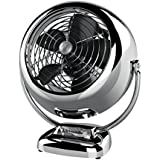 Vornado VFAN Vintage Whole Room Air Circulator, Chrome