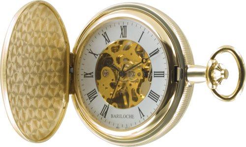 Stainless Steel Pocket Watch by Bariloche 55508GP-W2