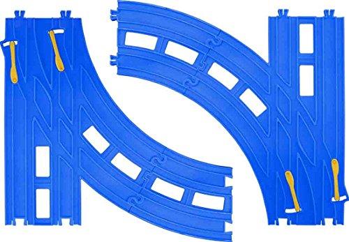 プラレール 複線ターンアウトレール(L・R各1セット入) R-28