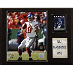 NFL Eli Manning New York Giants Player Plaque by C&I Collectables