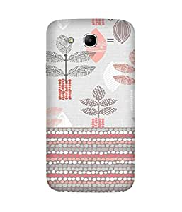 Floral Pattern Samsung Galaxy Mega 5.8 Case