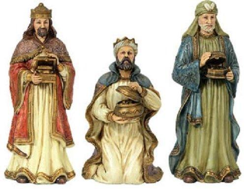 Religiöse Figur Set Heilige Drei Könige ca. 23 cm aus Polyresin