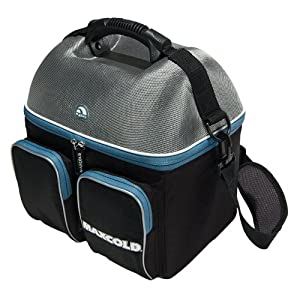 Igloo Maxcold Hardtop Gripper Cooler, Black, 22-Can Capacity by Igloo