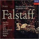 Verdi - Falstaff / Van Dam · Lipovsek · Coni · Serra · Norberg-Schulz · Graham · Canonici · Begley · Berliner Philharmoniker · Sir Georg Solti