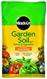 Miracle-Gro Garden Soil for Flower and Vegetable, 1 Cubic Foot