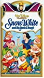 Snow White and the Seven Dwarfs [VHS]