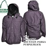 Polartec Mountain Parka 7931: Purple / Black