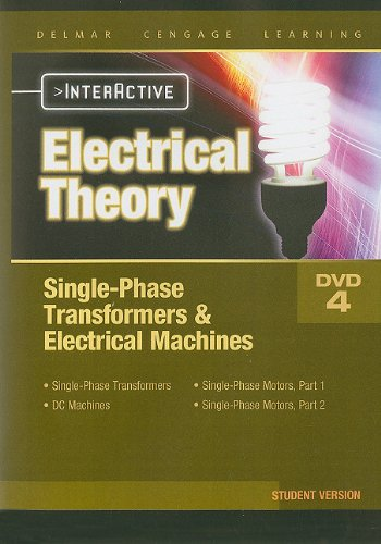 Electrical Theory Single Phase Transformers & Electrical Machines Interactive Student DVD